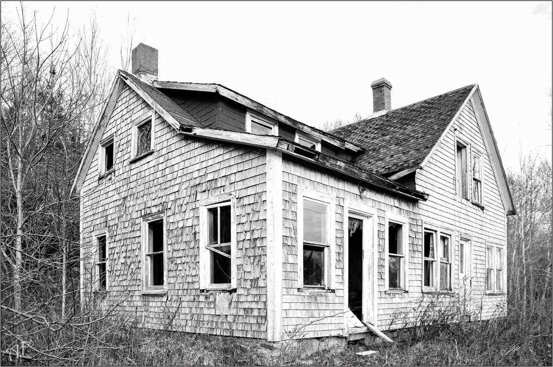 Abandoned Nova Scotia House Old Forgotten Photography